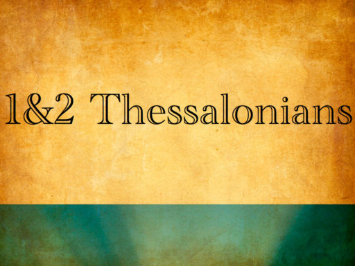 1 Thessalonians 5 – John Griffiths